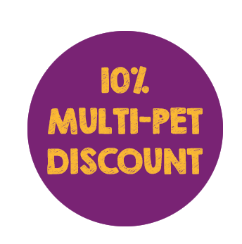 10% Multi-Pet Discount