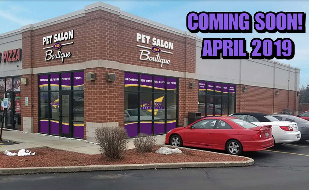 PurrFurred Pet Styling Aurora Salon Coming Soon