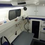 Mobile Grooming Van - Inside